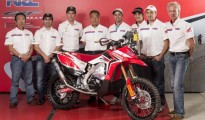 team hrc rally presentazione mugello 2013