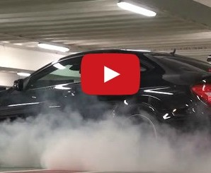 c63 amg burnout london