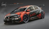 civic wtcc zengo motorsport