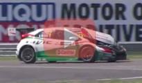 tarquini crash slovakiaring wtcc
