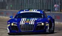 #46 Fall-Line Motorsports Audi R8 LMS: Charles Espenlaub & Charlie Putman