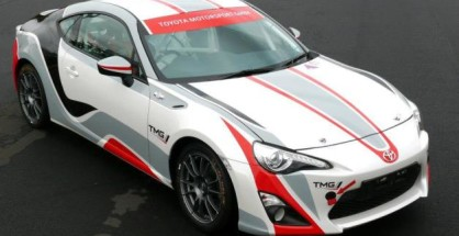 Toyota GT86 CS-R3: pronta al debutto in Classe R3 al Rally di Germania 2014.